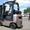 Газовый погрузчик Nissan на 1.8 тонны вагонник с боковым смещением #1280201