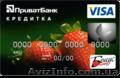 Кредитка Приватбанка с лимитом до 25 000 грн