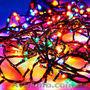 Гирлянда бахрома уличная 100 led 5м разноцветная